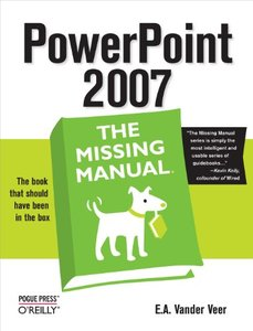 PowerPoint 2007: The Missing Manual (Paperback)-cover