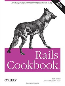 Rails Cookbook (Paperback)-cover