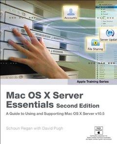 Apple Training Series Mac OS X Server Essentials, 2/e-cover