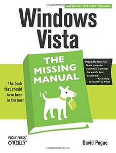 Windows Vista: The Missing Manual (Paperback)-cover
