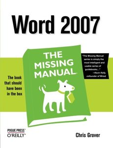 Word 2007: The Missing Manual (Paperback)-cover