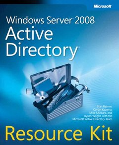 Windows Server 2008 Active Directory Resource Kit (Paperback)-cover