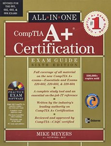 A+ Certification All-in-One Exam Guide, 6/e (Hardcover)-cover