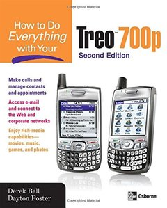 How to Do Everything With Your Palm Treo, 6/e-cover