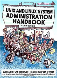 UNIX and Linux System Administration Handbook, 4/e (Paperback)-cover