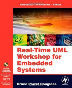 Real Time UML Workshop for Embedded Systems (Paperback)-cover
