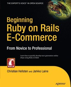 Beginning Ruby on Rails E-Commerce: From Novice to Professional-cover