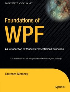 Foundations of WPF: An Introduction to Windows Presentation Foundation-cover