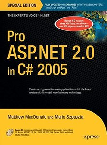 Pro ASP.NET 2.0 in C# 2005, Special Edition-cover