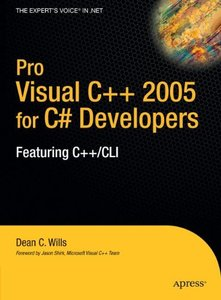 Pro Visual C++ 2005 for C# Developers-cover