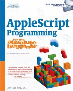 AppleScript Studio Programming for the Absolute Beginner-cover
