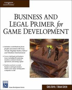 Business & Legal Primer for Game Development (Hardcover)-cover