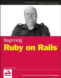 Beginning Ruby on Rails-cover