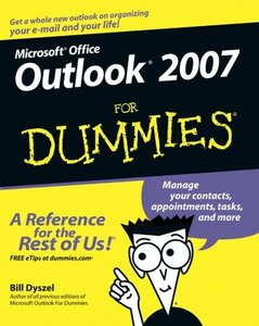 Outlook 2007 For Dummies-cover