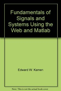 Fundamentals of Signals and Systems Using the Web and Matlab, 3/e(美國版ISBN: 0131687379)-cover