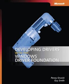 Developing Drivers with the Windows Driver Foundation (Paperback)-cover