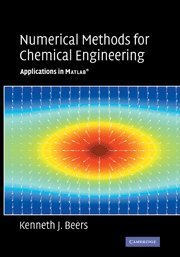 Numerical Methods for Chemical Engineering: Applications in MATLAB (Hardcover)-cover