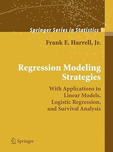 Regression Modeling Strategies (Hardcover)-cover