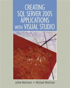 Creating SQL Server 2005 Applications with Visual Studio-cover