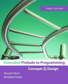 Extended Prelude to Programming, 3/e-cover