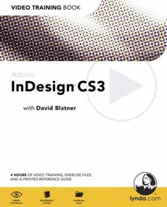 Adobe InDesign CS3: Video Training Book-cover