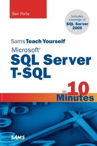 Microsoft SQL Server T-SQL Crash Course-cover