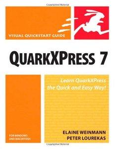 QuarkXPress 7 for Windows & Macintosh: Visual QuickStart Guide-cover