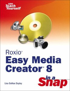Roxio Easy Media Creator 8 in a Snap-cover
