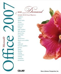 Microsoft Office 2007 On Demand (Paperback)-cover