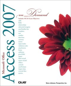 Microsoft Office Access 2007 On Demand (Paperback)-cover