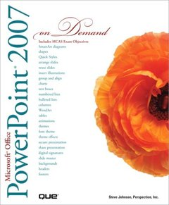 Microsoft Office PowerPoint 2007 On Demand-cover