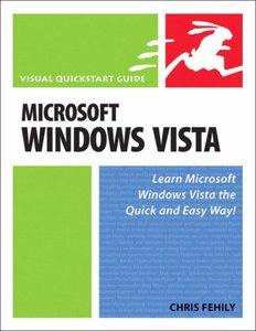Microsoft Windows Vista: Visual QuickStart Guide-cover