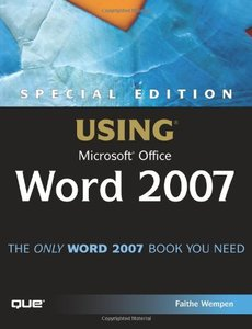 Special Edition Using Microsoft Office Word 2007-cover