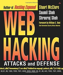 Web Hacking: Attacks and Defense (Paperback)-cover