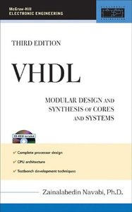 VHDL: Modular Design and Synthesis of Cores and Systems, 3/e(亞洲版)-cover