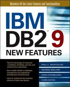 IBM DB2 9 New Features-cover
