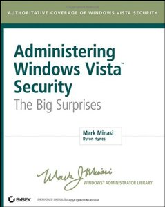Administering Vista Security: The Big Surprises (Paperback)-cover