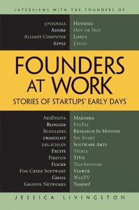 Founders at Work: Stories of Startups Early Days (harcover)