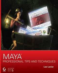 Maya Professional Tips and Techniques (Paperback)-cover