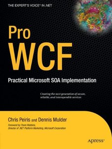 Pro WCF: Practical Microsoft SOA Implementation-cover