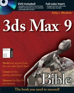3ds Max 9 Bible (Paperback)-cover