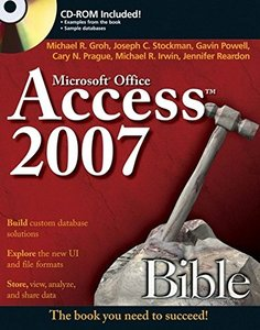 Access 2007 Bible (Paperback)-cover