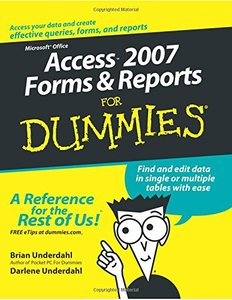 Access 2007 Forms & Reports For Dummies-cover