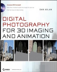 Digital Photography for 3D Imaging and Animation-cover