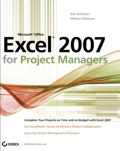 Microsoft Office Excel 2007 for Project Managers (Paperback)-cover