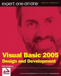 Expert one-on-one Visual Basic 2005 Design and Development (Paperback)-cover
