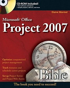 Microsoft Project 2007 Bible (Paperback)-cover