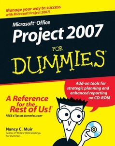 Microsoft Office Project 2007 For Dummies (Paperback)-cover
