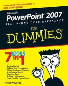 PowerPoint 2007 All-in-One Desk Reference For Dummies-cover