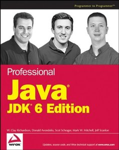 Professional Java JDK 6 Edition (Paperback)-cover